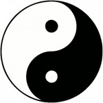 Yin and Yang encompassed by the Dao